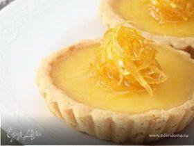Лимонные тарталетки (рецепт от Юлии Высоцкой)