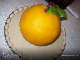 "Бисквит на манке + торт ""Яблочко"""
