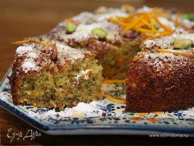 Тертый пирог с безе и малиной – кулинарный рецепт