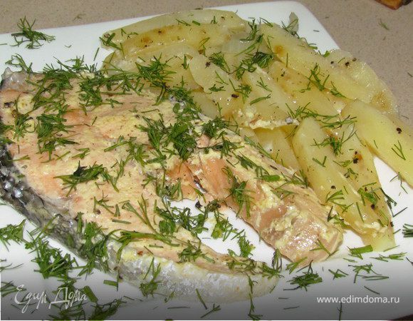 Рыбка с картошечкой в пароварке