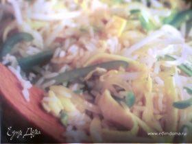 Рис с яйцом и овощами- egg fu yung
