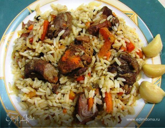 Плов в кастрюле из пропаренного риса — pic 1
