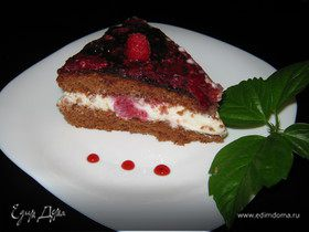 Торт «Малиновая фантазия»