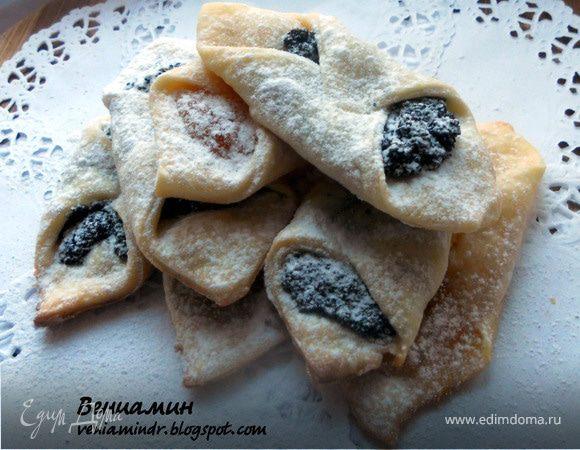 Kolacky - польское рождественское печенье