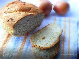 Хлеб с карамелизованным луком