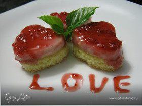 Tescoma. Пирожное «Любовь это…»