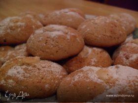 Пикантные печеньки с имбирем и корицей
