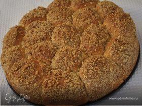 Орехово-творожный пирог