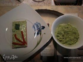 Паста из авокадо (Вариации по Гуакамоле)