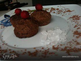 Овсяное печенье из Геркулеса с чёрным шоколадом и кокосовой стружкой
