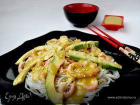 "Салат ""Эби авокадо""(по мотивам японской кухни)"