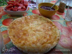 Хачапури (грузинская лепешка с сыром)