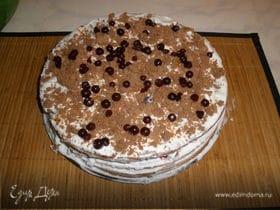"""Торт """"Брусничка"""" - мой первый торт"""