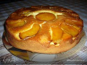 Ароматный апельсиново-лимонный кекс с яблоками