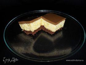 Пирожные с муссом из манго
