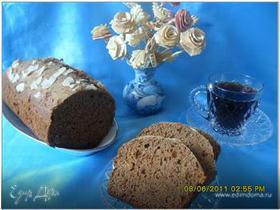 Кофейный кекс с медом