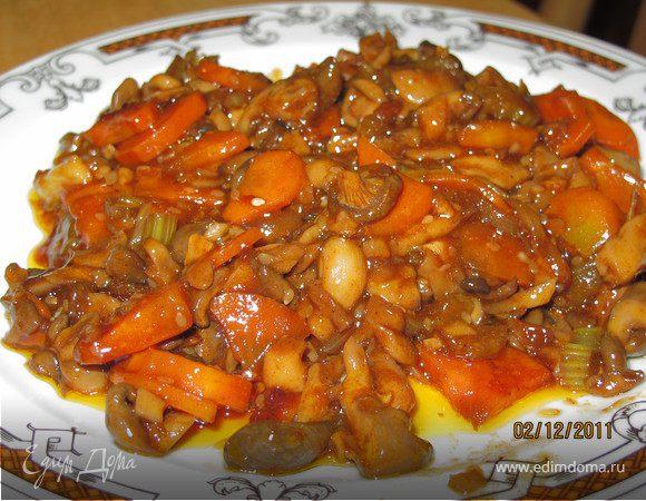 Грибы по китайски