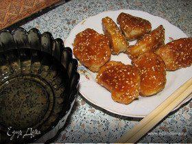 Шелковые яблоки. Китайский десерт.
