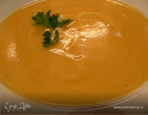 Тыквенно-сельдерейный суп-пюре