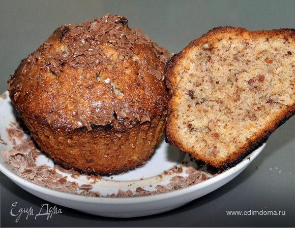 Миндально-шоколадные кексы