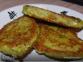 Зеленушки (драники с зеленью)