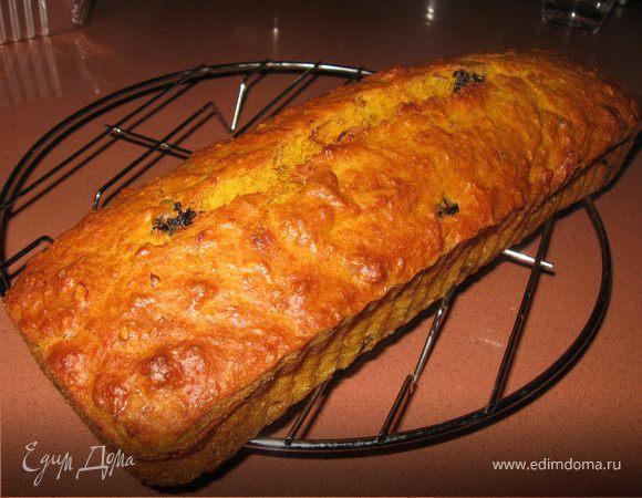 Морковный кекс с орехами и черносливом