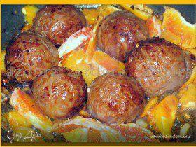 Тефтельки в свиной жировой сетке
