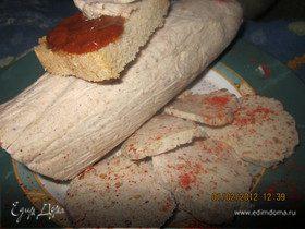 Бутербродное пряное сальце