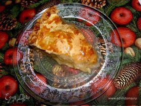 Американский яблочный пирог, домашнее наслаждение