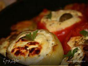 Перцы фаршированные сыром и творогом