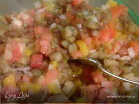Баклажанный салатик