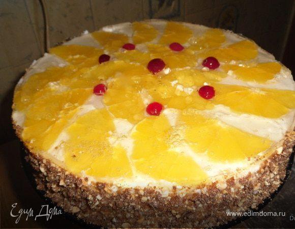 Торт-пирожное «Нежность»