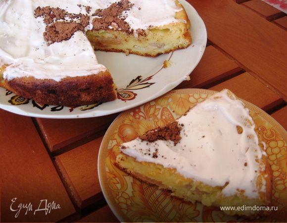 Нежный пирог с яблоками