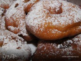 Пончики с яблоками и коньяком!