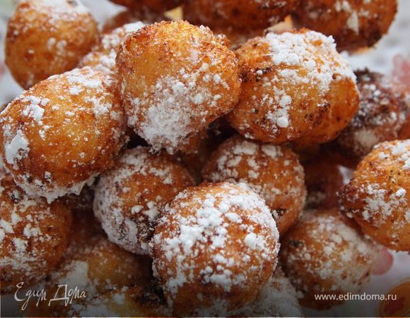 Что приготовить пончики из творога пошаговые рецепты — 8