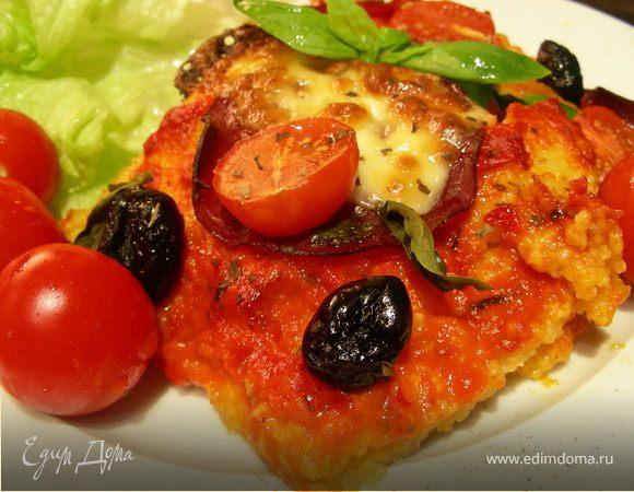 Пицца из поленты