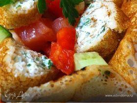 Блинная радость (салатик)