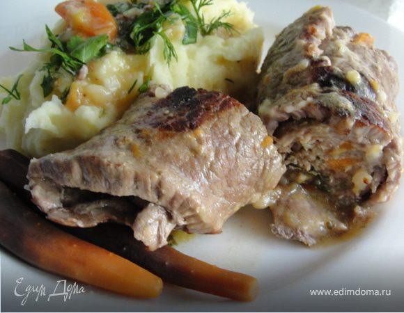 Рулады из говядины - два варианта начинки
