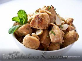 Куриное филе в медово-лаймовом маринаде