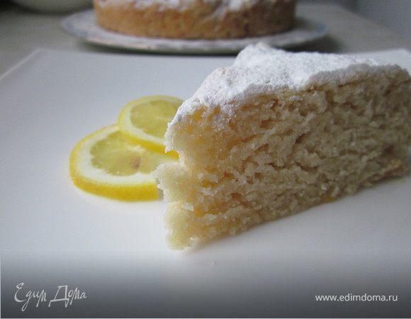 Лимонный пирог (постный)