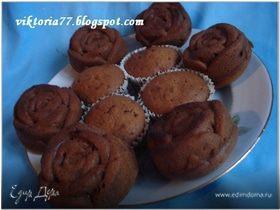 Медовые кексы (постные)