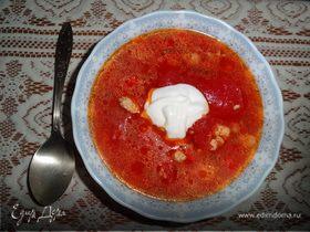 Свиной чили суп
