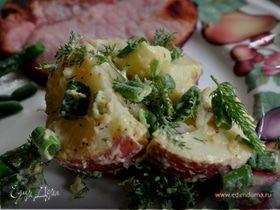 Картофельный салат с горчицей