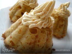 Абрикосово-коньячные кексы с кремом