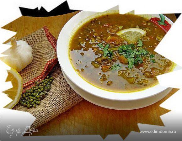 Мунг-дал таркари (Постный суп из маша)