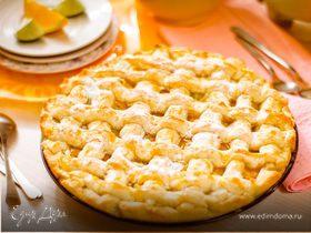 Пирог с апельсином и лаймом