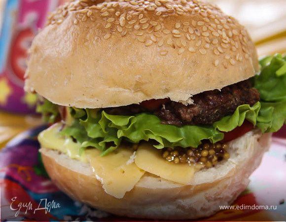 Гамбургер для пикничка