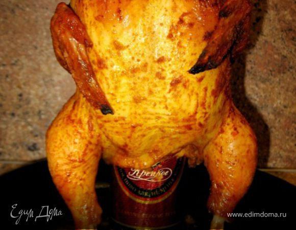 Пьяная курица