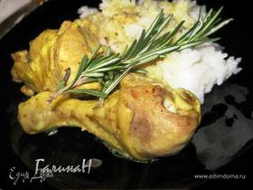 Ароматная курица в сливочно-ореховом соусе