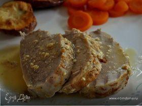 Свинина в винно - горчичном соусе